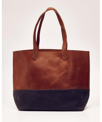 Lori Color Block Tote