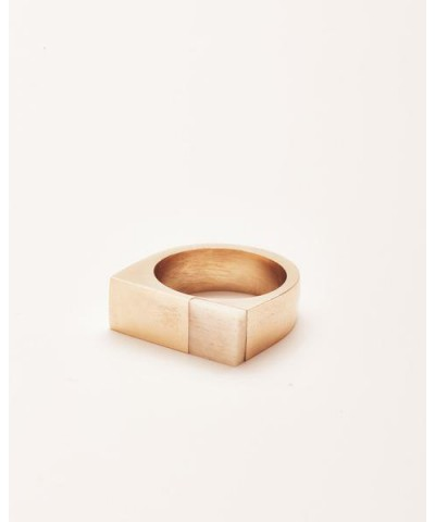 Brass & Bone Plane Ring