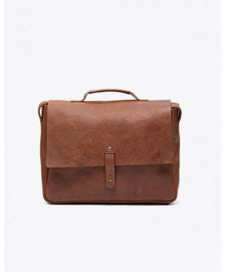 Loreto Messenger Bag Chestnut
