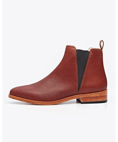 Women Chelsea Boot Brandy