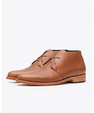 Luca Chukka Boot Saddle Brown