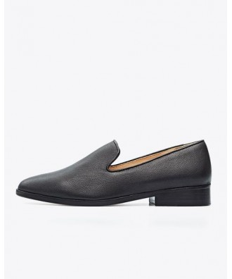 Frida Smoking Loafer Black