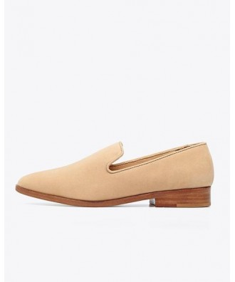 Frida Smoking Loafer Wheat