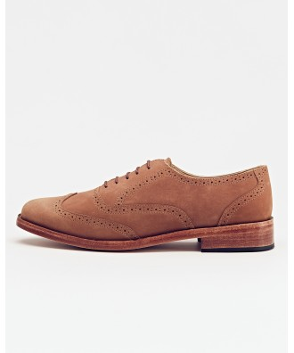 Taylor Wingtip Oxford Walnut