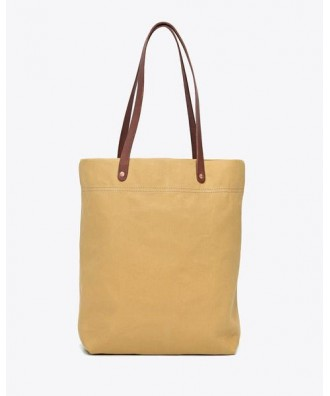 Canvas Tote Bag Mustard