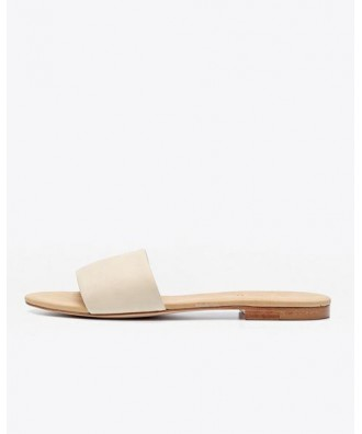 Isla Slide Sandal Bone
