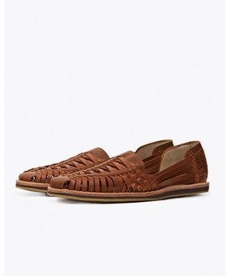 Men Huarache Sandal Tobacco