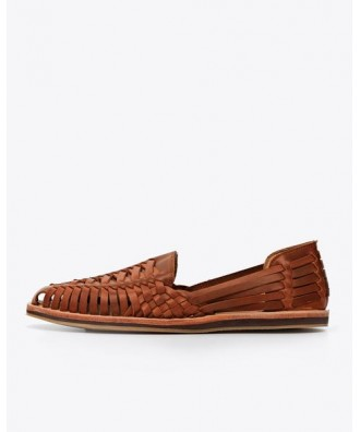Men Huarache Sandal Brandy