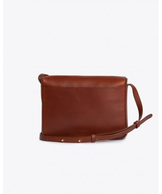 Clara Crossbody Purse Cuir Naturel